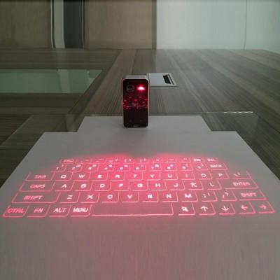 Máy chiếu laser ảo và bàn phím cho máy tính bảng