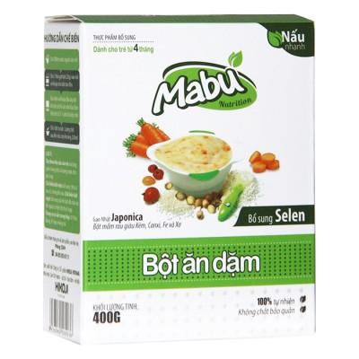 Bột Ăn Dặm cho bé Mabu 400g