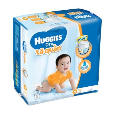 Tã quần cho bé Huggies M74